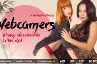 VR Porn Webcamers with Bianka Nascimiento, Lylian Red