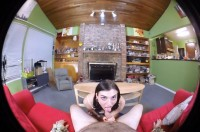 VR Porn Stunning Young Cassidy Comes Home From School with