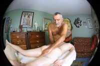 VR Porn Daddy Russ Gives Cassidy Quinn an Anal Massage with Daddy Russ, Cassidy Quinn