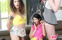 VR Porn Lady Dee's Hangout with Nikki Montero, Redvex