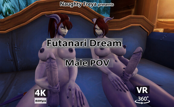 VR Porn Futanari Dream - Male POV