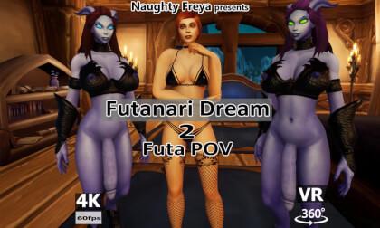 VR Porn Futanari Dream 2 - Futa POV